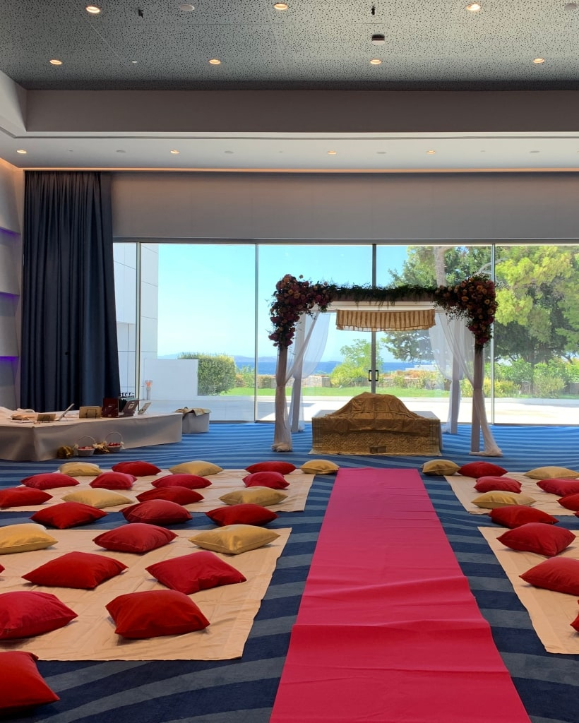 Sikh Destination Wedding Greece